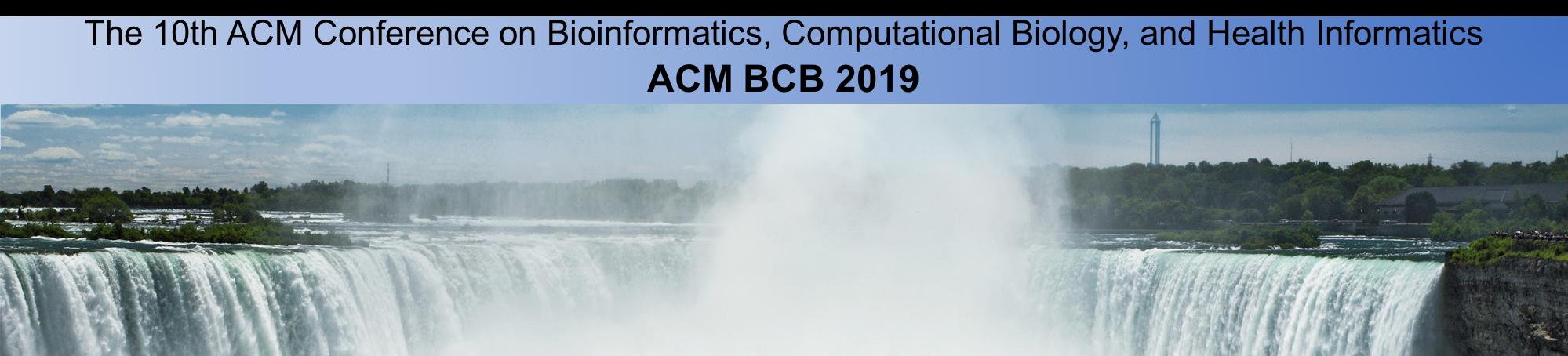 ACM BCB Niagra Falls